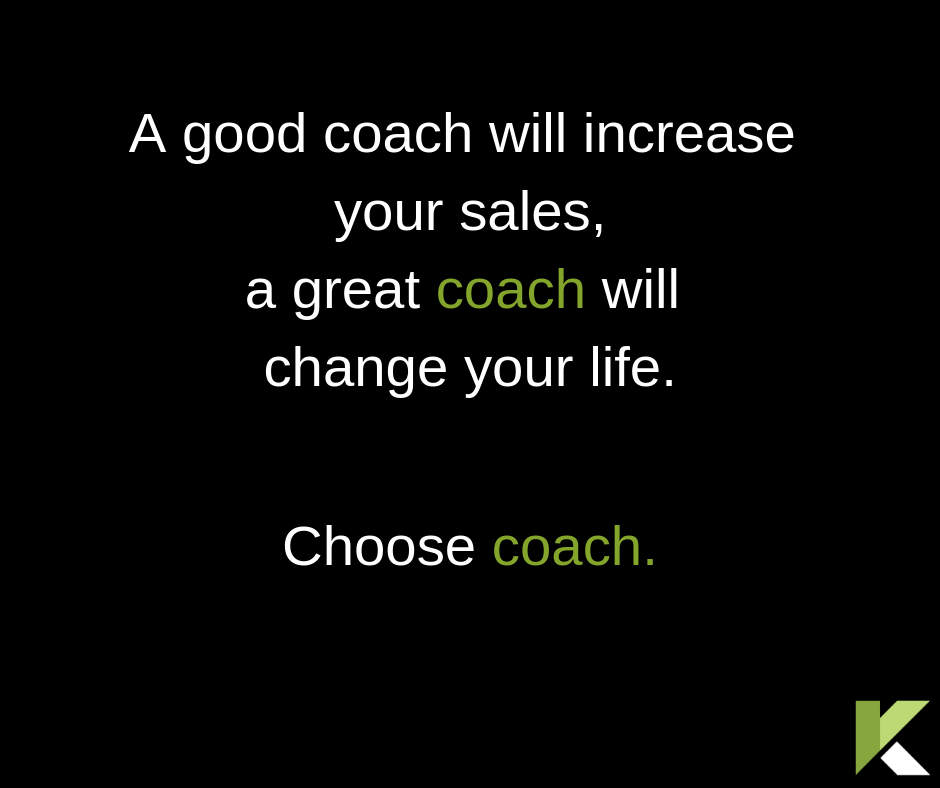 Effective Sales Coaching