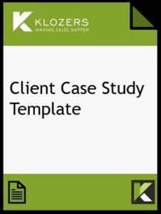Client Case Study Template