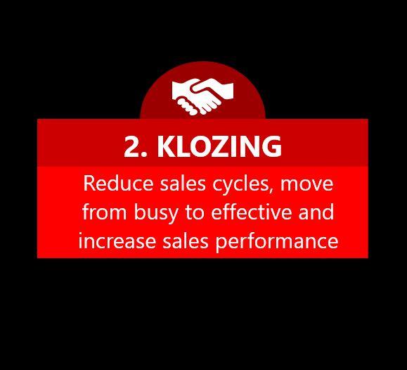 Klozers Closing New Customers