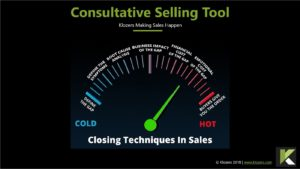 Consultative Sales Tool