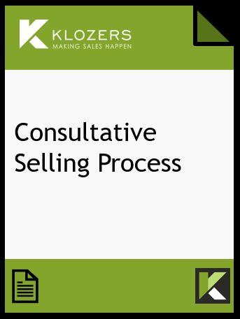 Consultative Selling Process