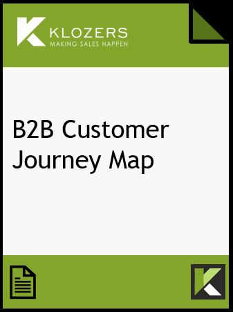 B2B Customer Journey Map