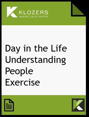 Day in the Life Exercise