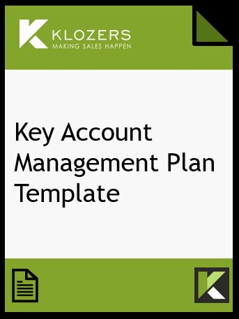 Sales Key Account Management Template