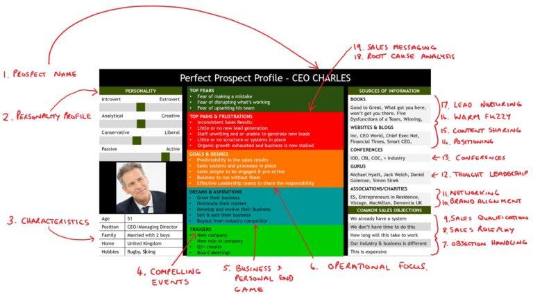Sales Prospect Profile Template