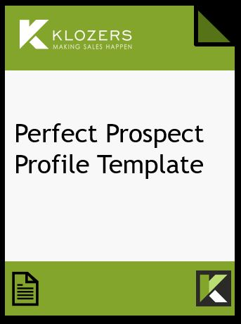 Prospect Profile Template