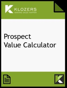 Prospect Value Calculator Template