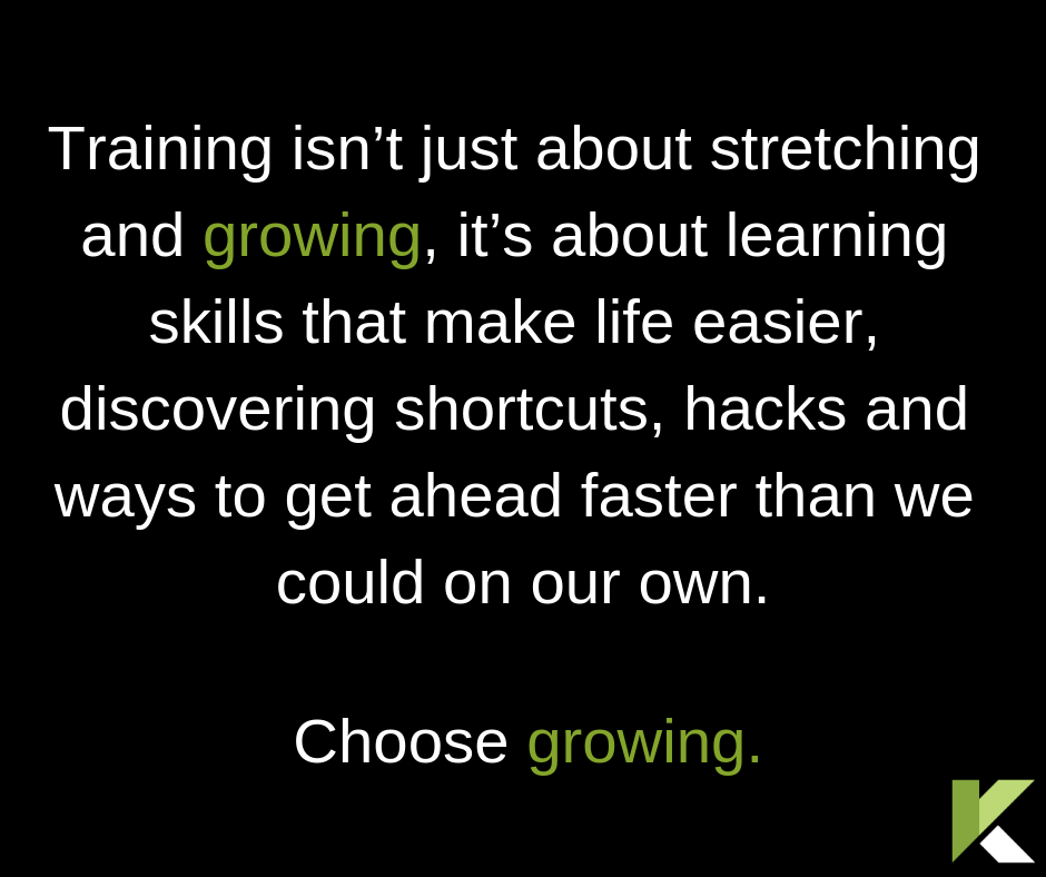 Sales Training - Choose Growing