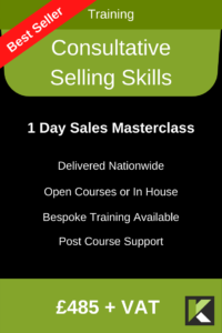 Consultative Selling Skills Side Banner