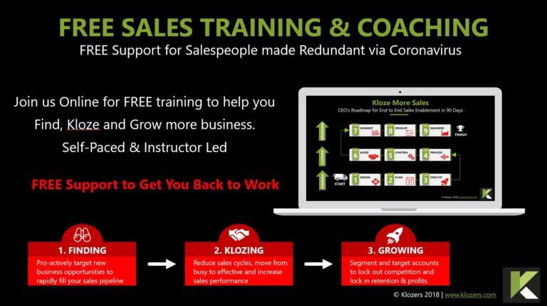 Free Sales Training