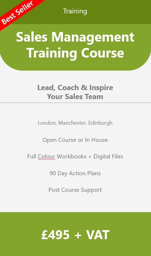 Sales Management Training Course