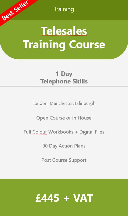 Telesales Training Course Scotland