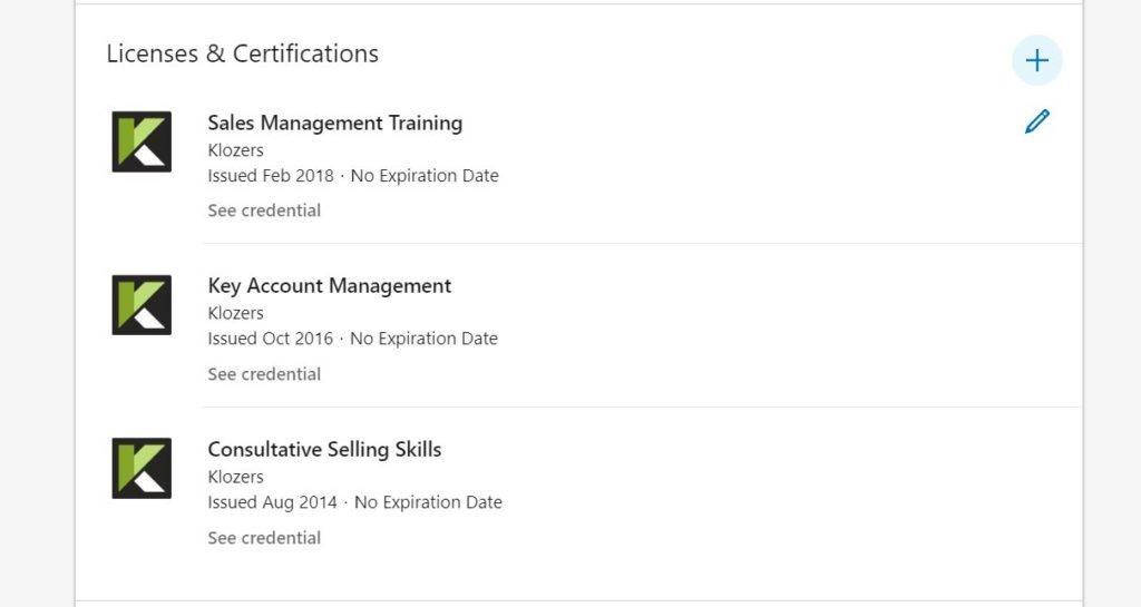 Linkedin Sales Training Accreditation