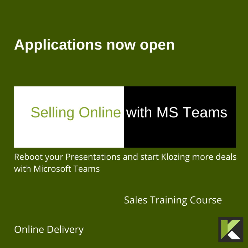 Selling with MS Teams