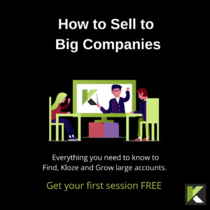 How to Sell to Big Companies sales training