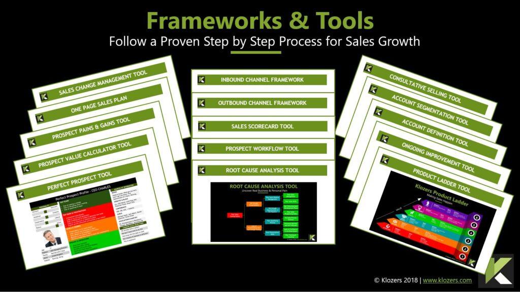 Sales Tools - B2B Frameworks
