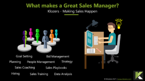 What Makes a Great Sales Manager