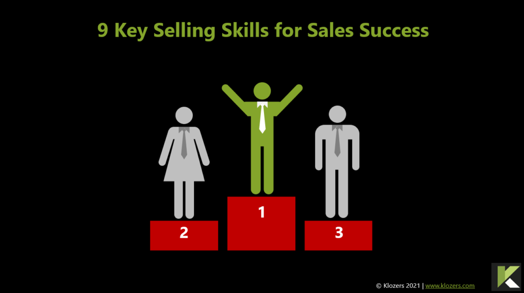 Key selling skills for sales success