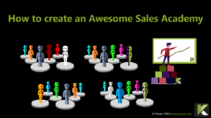 How to create a sales academy