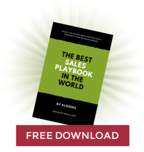 The Best Sales Playbook in the World