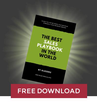 The Best Sales Playbook in the World - Free Download