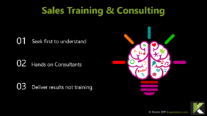 sales training and consulting