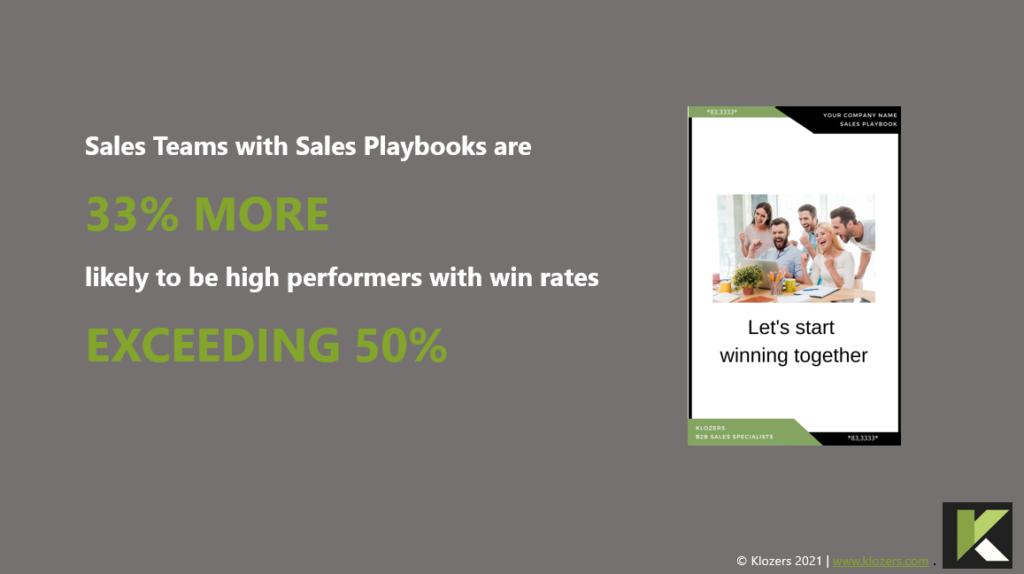 saas sales playbook header